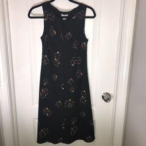 Ann Taylor LOFT Sleeveless Key hole Neck Dress